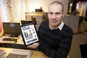 Jimmie Näslund, chefredaktör Örnsköldsviks Allehanda, Tidningen Ångermanland och allehanda.se