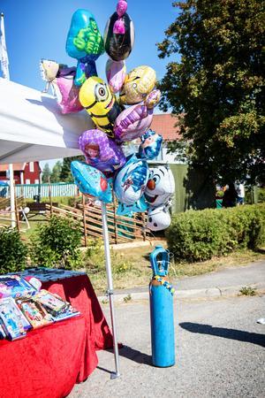 Ballonger i alla dess olika former och figurer.