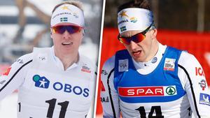 Oskar Svensson och Teodor Peterson tog sig till final.