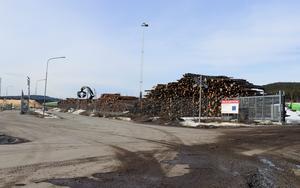 Den nuvarande omlastningsterminalen har enligt Lars Mattsson börjat bli trångbodd för de volymer som lastas om i Ånge.