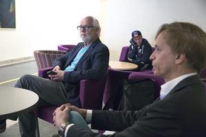 Ingvar Henriksson (S) övertygade Ulf Rosenqvist om att gå med på en löneökning om 1 500 kronor i månaden. Nu minskar glappet i lönetoppen bland kommunens toppchefer. Foto: Torbjörn Granling/Arkiv