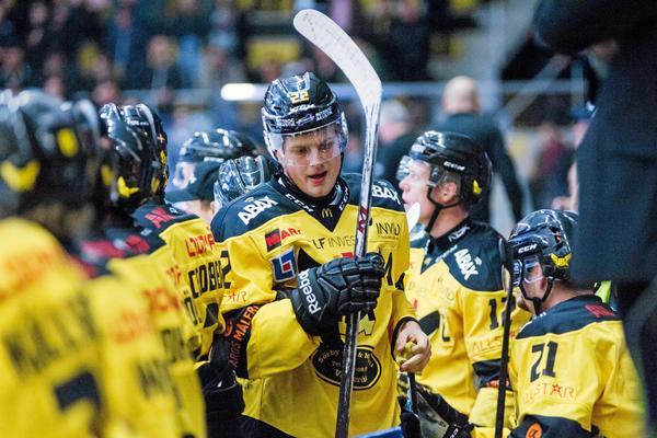 Niclas Lehmann i VIK-tröjan.