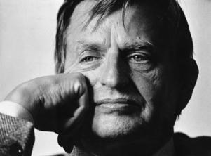 Olof Palme 1985. Foto: TT
