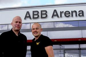 VIK:s ordförande Pär Södergren och nyrekryterade Jens Brandberg som är ansvarig för varumärke, kommunikation och CSR-projektet