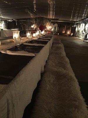 För att lokalerna ska kunna användas för evenemang har de bland annat utrustats med nödutgång, värme och ventilation. Foto: Privat