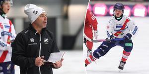 Magnus Olsson och hans Edsbyn får klara sig utan Hans Andersson de närmaste veckorna.