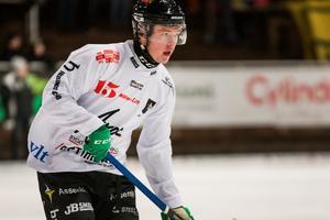 Niklas Gifting gjorde två mål för Tillberga i förlustmatchen mot Ljusdal.
