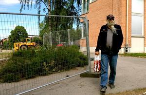 Alltid på väg. Anders Öhrn har vandrat längs hälften av Sundsvalls alla namngivna vägar.