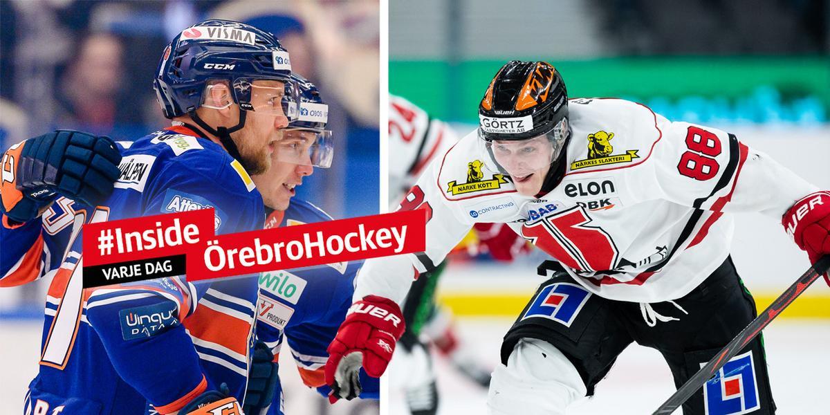 JUST NU: Örebro Hockey vill bryta förlustsviten – följ bortamatchen mot Växjö här