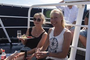 Michelle Fors och Jennifer Haglund.