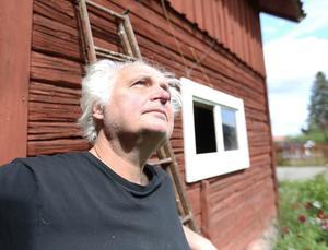 Med blicken mot stratosfären - DD:s chefredaktör Göran Greider.