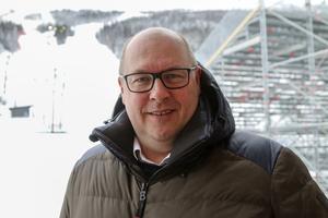 VM-generalen och vd för VM 2019 i Åre, Niklas Carlsson. Numera generalsekreterare för IBU.