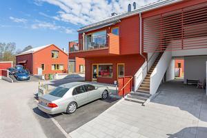 Så här ser de nya husen på Åbrinken i Arboga ut. Husen i Kungsör kommer att få ett liknande utseende. Foto: Länsförsäkringar Fastighetsfömedling
