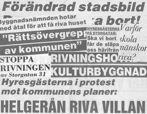 Striderna var många och ibland långa när det gällde vissa rivningshotade hus i Östersund.