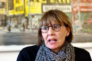 Foto: Claes Söderberg. Landstingsdirektör Karin Stikå Mjöberg.