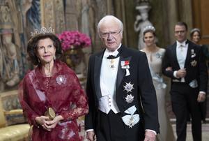 Drottning Silvia och kung Carl XVI Gustaf.