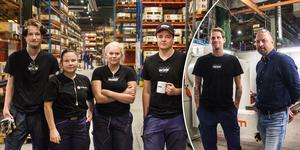 Acab i Alfta har kunnat anställa,  inte bara en, utan fem nyutexaminerade studenter från industriprogrammet.