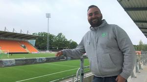 VSK:s fotbollsordförande Andreas Dayan.