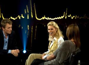 Två av årets stora tv-stjärnskott i samma program; Fredrik Skavlan bjöd i september in Anna Anka till sin pratshow i SVT.