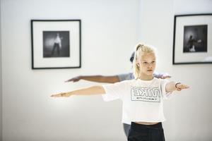 Iris Ahlzén var en av deltagarna på danslägret i Ljusdal.