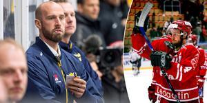 Robin Jonsson nu och då. I helgen är han i Sundsvall för landslagsturneringen för U18-spelare. 2007-2009 bodde Jonsson i Medelpad för att spela med Timrå IK.