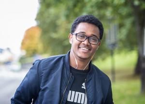 Sami Hassan, 19 år, student, Skönsberg.