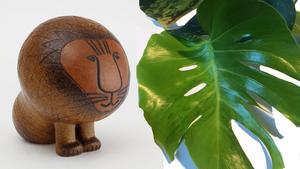 Lisa Larssons design och gröna växter är populära på Tradera.