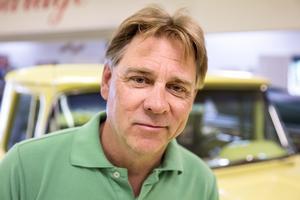 Klas Brink, entreprenör, men mest känd som arrangör av Västerås Summer Meet.