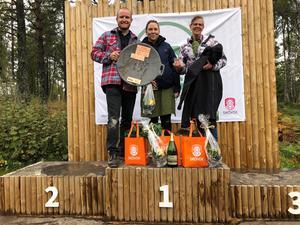 Maxime från Arvika vann SM i utomhusmatlagning 2020 som avgjordes på Billingen i Skövde. Foto: Magdalena Engel/Next Skövde