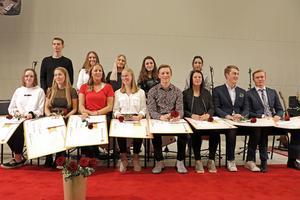 Här är BEL-stipendiaterna år 2018 samlade på en bild.