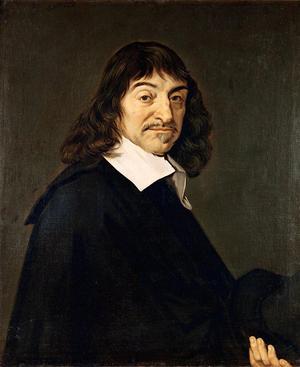 René Descartes. Målning av Frans Hals från andra halvan av 1600-talet.