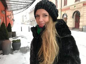 Liza-Maria Norlin (KD) kandiderar till riksdagen i höst.