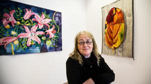 Margareta Sörlin visar sina verk på Kramfors konsthall fram till den 4 november.