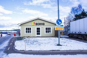 Borab driver bland annat återvinningscentralen vid Sävstaås i Bollnäs.