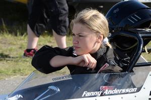 Fanny Andersson, Näsviken, leder EDRS-serien i Juniordragster inför tävlingarna i Sundsvall.