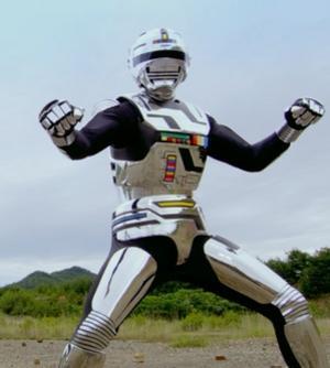 Kenji Ohba som Space Sheriff Gavan i den japanska tv-serien med samman namn. Foto: doramatv.ru