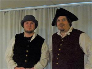Viktor Hansson och Robert Fors.