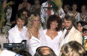 ABBA gjorde många låtar som behållit sin popularitet genom åren. Så här års spela Happy New Year på många platser världen över. Foto: Jan Collsiöö/TT