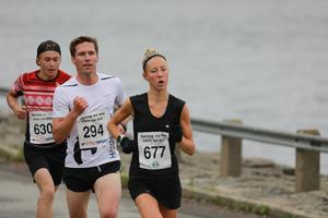 Fanny Borgström var snabbast av alla i damklassen när hon gick i mål på 35.28.
