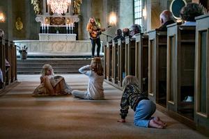 Chris Kläfford är själv född i Ramsbergs församling, och det var för barnens framtid som manifestationen hölls.