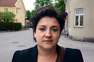 Dzeneta Ribic har både gråtit och jublat sedan beskedet om Ratko Mladic gripande kom. BILD: ANDERS SVENSSON