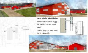 Så här ska utbyggnaden se ut när den står färdig om ungefär 1,5 år. Illustration: Kommunen