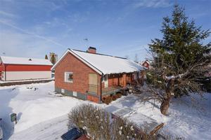 Denna fyrarumsvilla i Hedemora hade 5 091 klick under förra veckan och kom därmed på plats 10 på Klicktoppen, för Dalarnas del. Foto: Therese Asplund/Linslusen