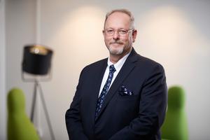 Fastighetsdirektören Harald Pleijel, vid Domstolsverket. Foto: Domstolsverket