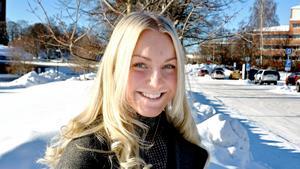 Wilma Karlsson, 18 år, student, Sunne:
