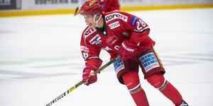 Linus Pettersson är tillbaka i Mododressen efter utlåningen till Kristianstad och i mötet med just Kristianstad i onsdags hamnade han också i poängprotokollet.