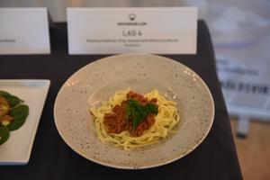 Klas Jonsson, Rasmus Hedkvist och Alfons Sundkvist från Geneskolan satsade på att göra en pasta bolognese.