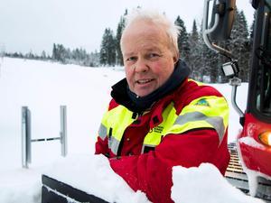 Royne Sjödin, arbetsledare på Sidsjöbacken.