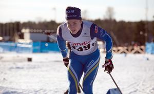 Domnarvets Nils Bergström visade att han är tillbaka i den svenska junioreliten på allvar på Lugnet i helgen.