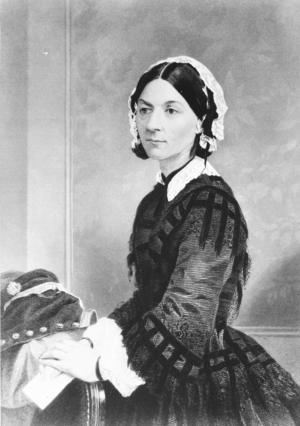 Florence Nightingale (1820-1910).
